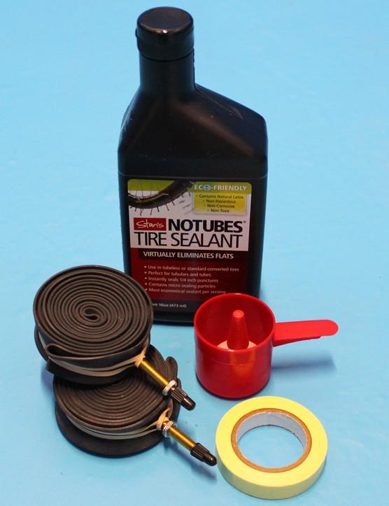Stan's NoTubes tubeless conversion kit