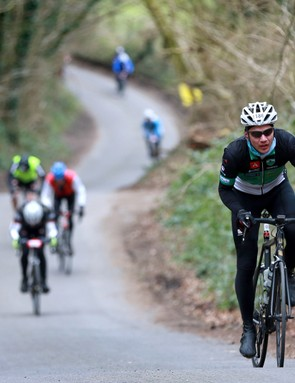 The route makes the most of quiet rural roads and local climbs