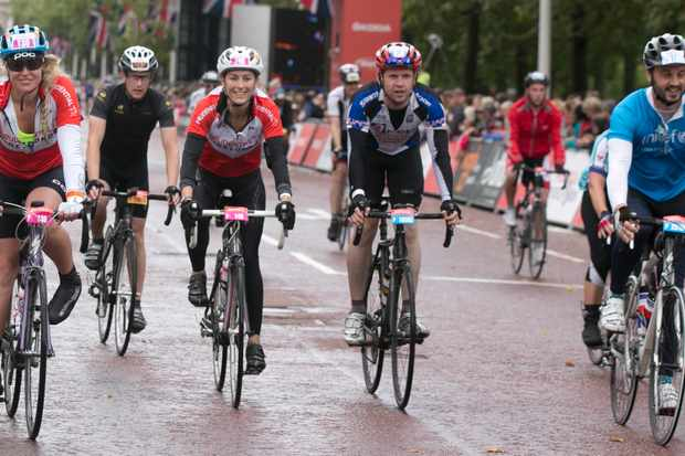 Peloton Relay teams have the chance to ride the sold-out Prudential RideLondon-Surrey 100
