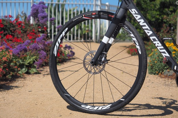 Zipp's new wide-profile 30 Course aluminium disc-brake wheels are aimed at a wide range of applications including road, gravel, cyclocross, and adventure