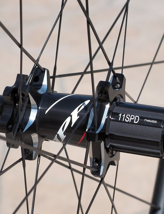 Zipp will use the same 77-177D hubset on the new 30 Course disc wheelsets as it recently announced for the revamped 202 Firecrest Disc and 303 Firecrest Disc