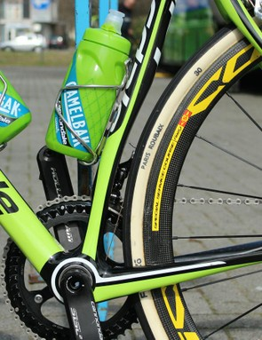 The 'small' chainring for Paris-Roubaix isn't that small, and may not be used at all