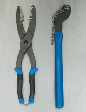 Available leverage is very close to Park Tool's shop-grade 'SR2.2' chain whip