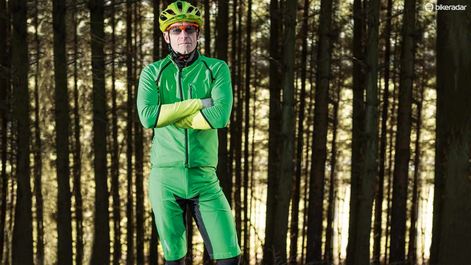 Gore's Alp-X Pro jersey and shorts are unforgivingly cut but perform impressively