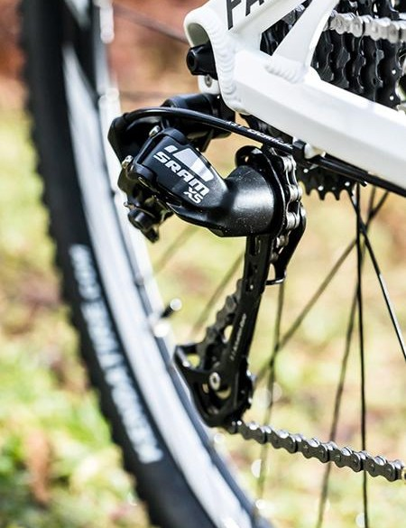 The price doesn't stretch to a clutch derailleur