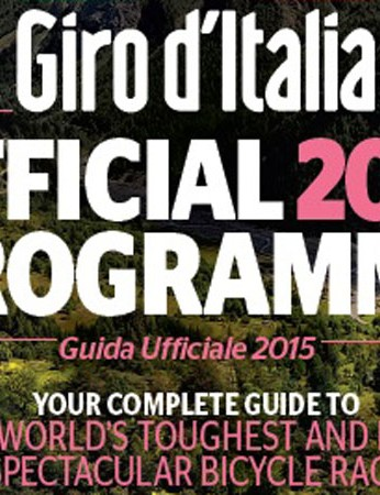 Official Giro d'Italia 2015 programme on sale now