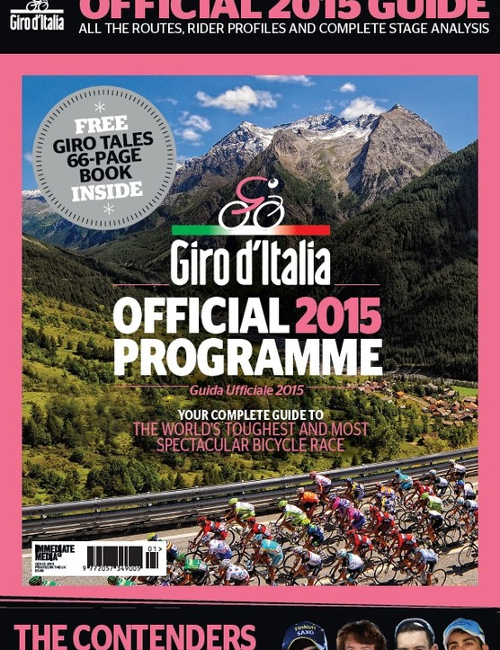 Official Giro d'Italia 2015 programme - on sale now