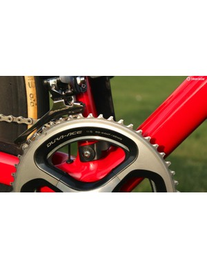 For Paris-Roubaix, Devolder has 53/44t rings