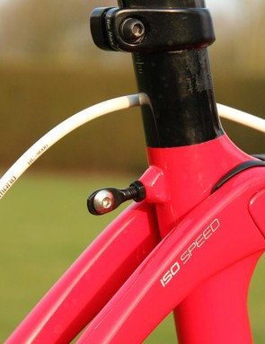 Trek started adding number-plate holders to its bikes when the Madone design did away with the seatstay bridge - the common place for number holders