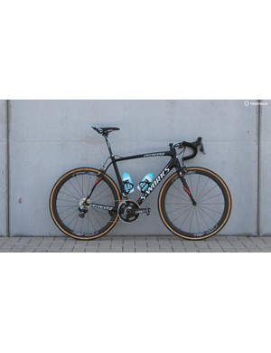 Defending Paris-Roubiax champion Niki Terpstra's Specialized S-Works Roubaix