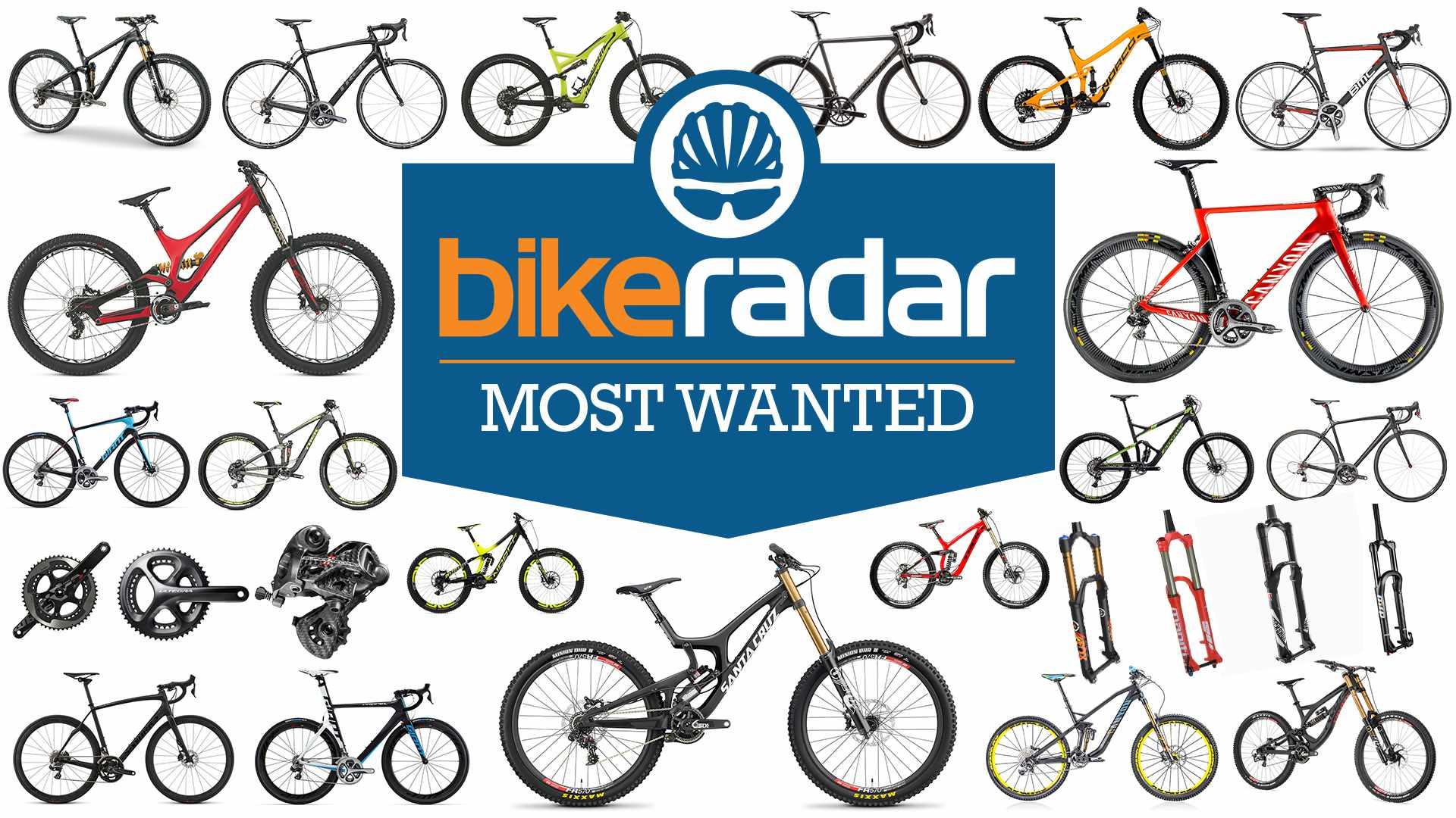 BikeRadar's 2015 Most Wanted Awards
