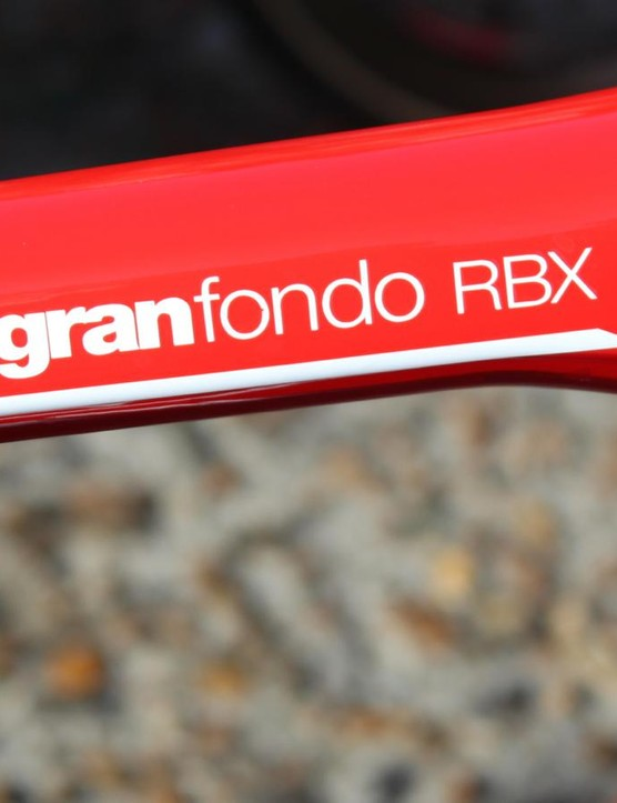 The BMC GranFondo RBX debuted at Paris-Roubaix