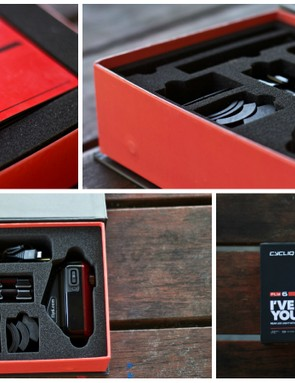 The Fly6 includes everything you'll need to mount, recharge and download the device
