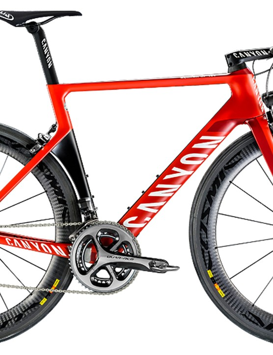 Most Wanted Aero Road Bike: Canyon Aeroad CF SLX