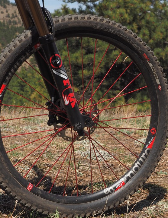 I've ridden several carbon wheelsets that have impressed me but given how rocky my local trails are, I decided that alloy rims would be the more prudent choice