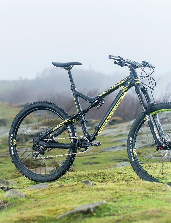Commencal's Meta AM V4 Race Rs 1x was a worthy winner of this year's Trail Bike of the Year award