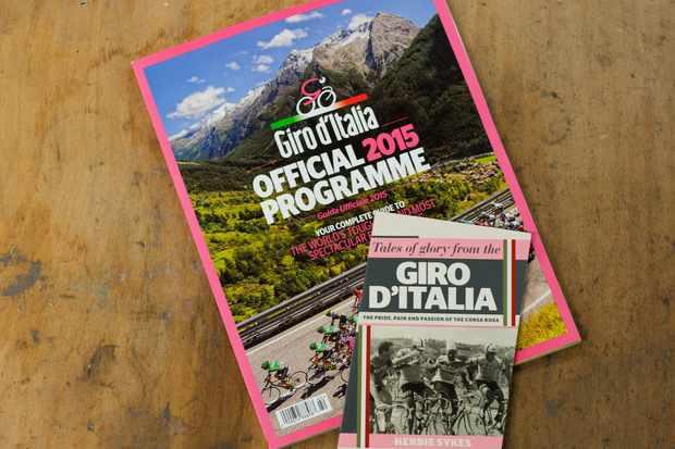 Official Giro d'Italia 2015 programme - on sale now