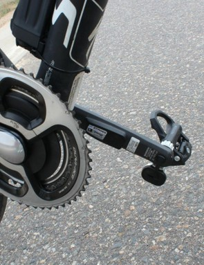 We used a trusty SRM as one of two controls while testing the Stages and Vector S