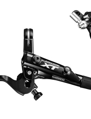 The M8000 brakes feature an all-new lever and master cylinder design, but re-use the same caliper as the previous generation XT brake