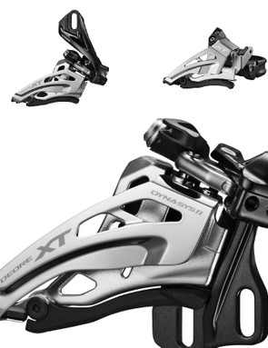 There are plenty of front derailleur options, including Shimano's new Side-Mount standard