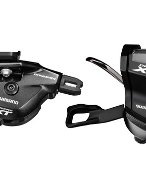 The shifters are available in bar clamp and I-spec versions