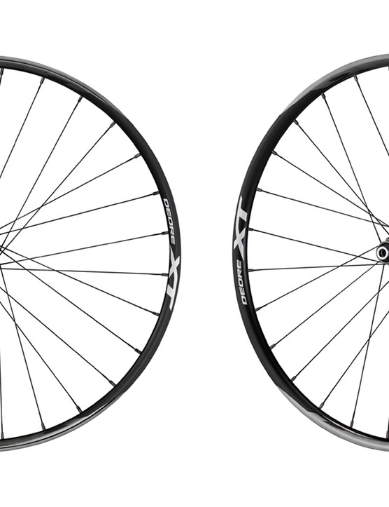 The new wheels feature a lighter and wider tubeless rim profile