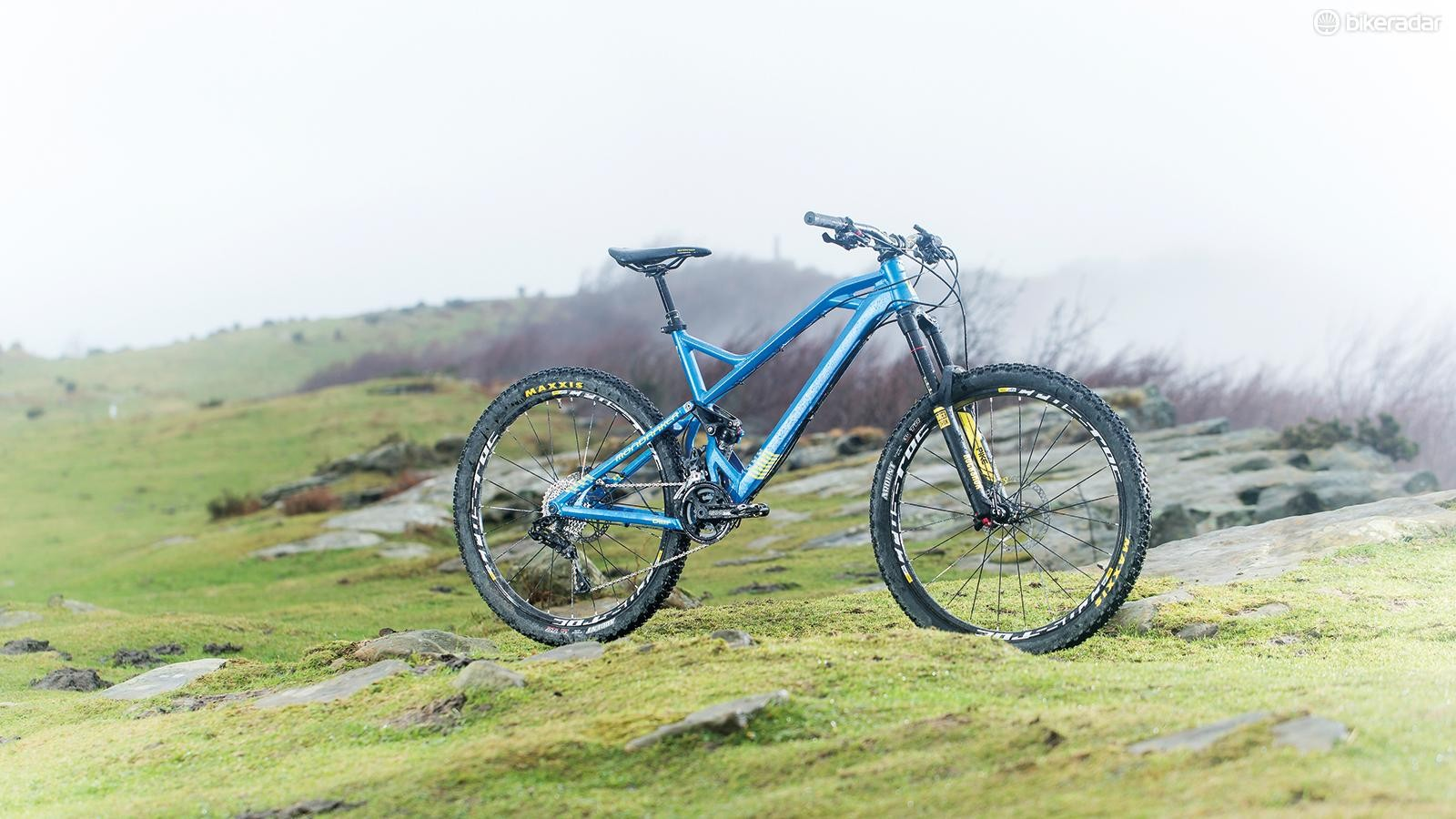 Mondraker Foxy XR –not everyone likes the looks, but it sure gets the job done