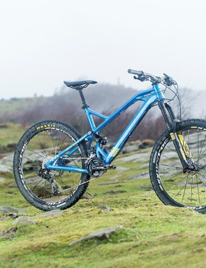 Mondraker Foxy XR – not everyone likes the looks, but it sure gets the job done
