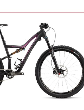 The Specialized Rumor Expert 650b features a RockShox Pike 130mm fork, Specialized Command IR dropper post and SRAM 1x11 drivetrain