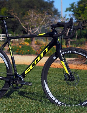 The stock Scott Addict CX 10 will instead get a clean - but rather staid - finish
