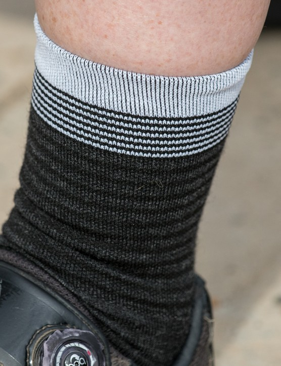 Merino socks offer year-round breathability