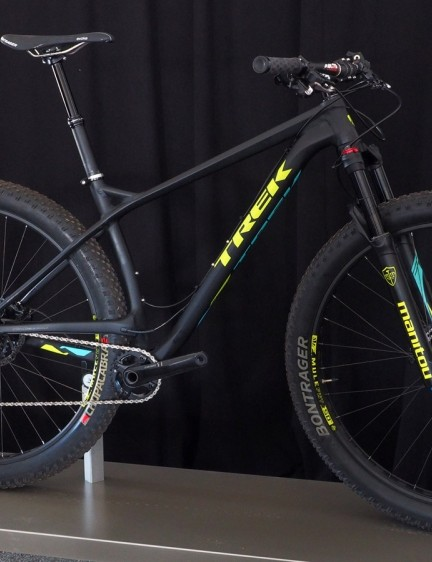Trek is using not only the new Manitou Magnum but the new Mulefut 50SL rims, too