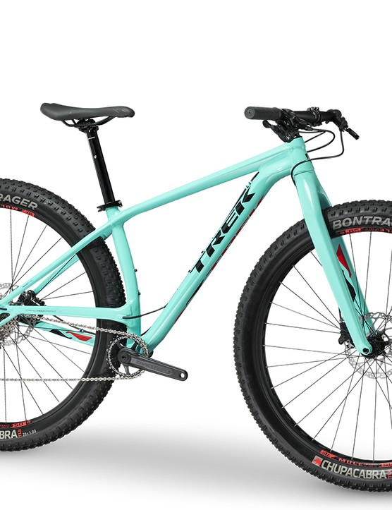 The Stache 5 is the most affordable and cross-country-oriented version of the bunch, with a rigid carbon fork. The Stache 5 is available now and retails for US$1,760. It is only be available in the United States