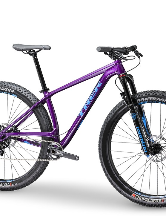 The Stache 7 will come with a 110mm-travel Manitou Magnum 34 Comp suspension fork and a SRAM's new GX drivetrain. It will be available this July in the US and UK. Pricing is set at US$2520 / £1,900
