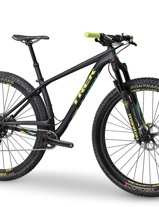 The Stache 9 is the flagship model, featuring a the top-end 110mm Manitou Magnum 34 Pro suspension fork, and a SRAM X1 drivetrain. The Stache 9 is available now in the US and UK for US$3,880 / £2,800