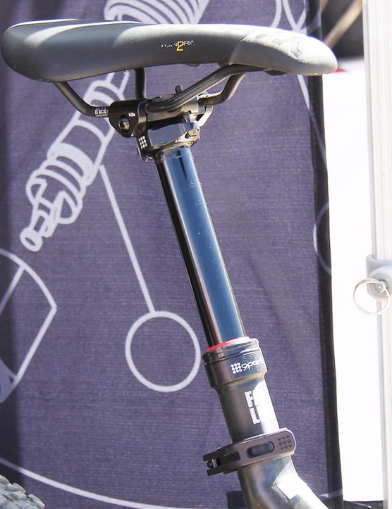 The Fall Line is 9Point8's second seatpost and its first stealth-routed model