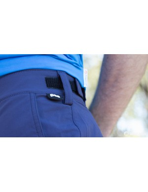 The Velcro waist is elasticated – this is one comfortable fitting short