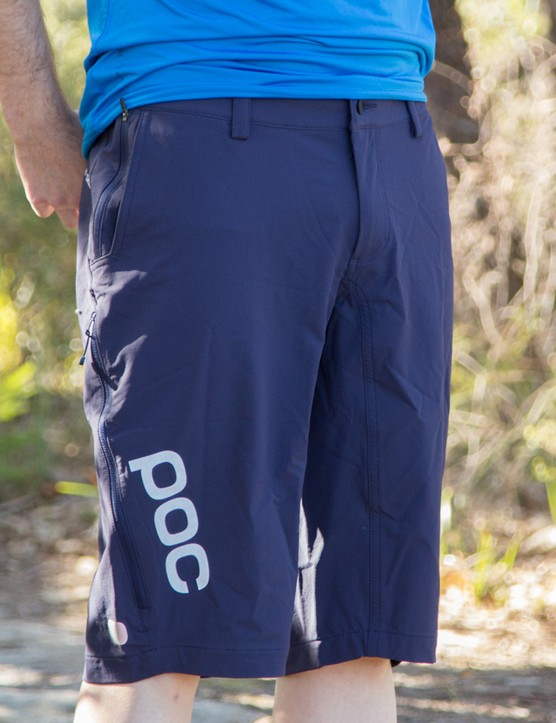 POC's Trail Vent shorts do everything expected of a good mountain bike baggy