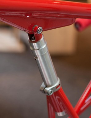 Telescopic frame sections mean make for a widely adjustable seating position
