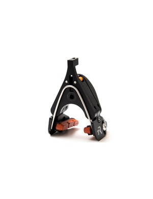 A new spring on the back aids lever return and keeps the brake even more compact