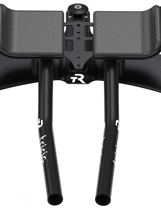 From above, the depth of the flared bars is clear, giving a 6:1 ratio airfoil
