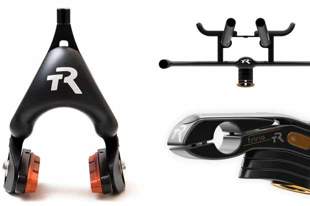 TriRig's new Omega X brake, Alpha X bars and Sigma X stem