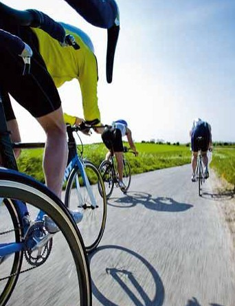 You might say the same about sportives. The freedom of the open road, somebody else's wind in your hair…