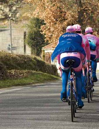 It's a good idea to get used to group riding before your sportive