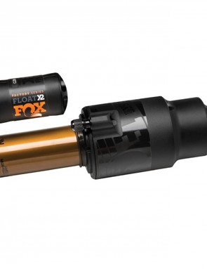 The new X2 shock uses a recirculating oil damper that, in addition to doing a better job of managing heat, offers riders the ability to independently adjust high- and low-speed compression as well as and high- and low-speed rebound