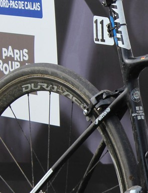 The rubber is getting bigger and bigger at Paris-Roubaix