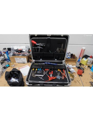 High-end T-handle wrenches are a feature of many a pro mechanic's toolkit