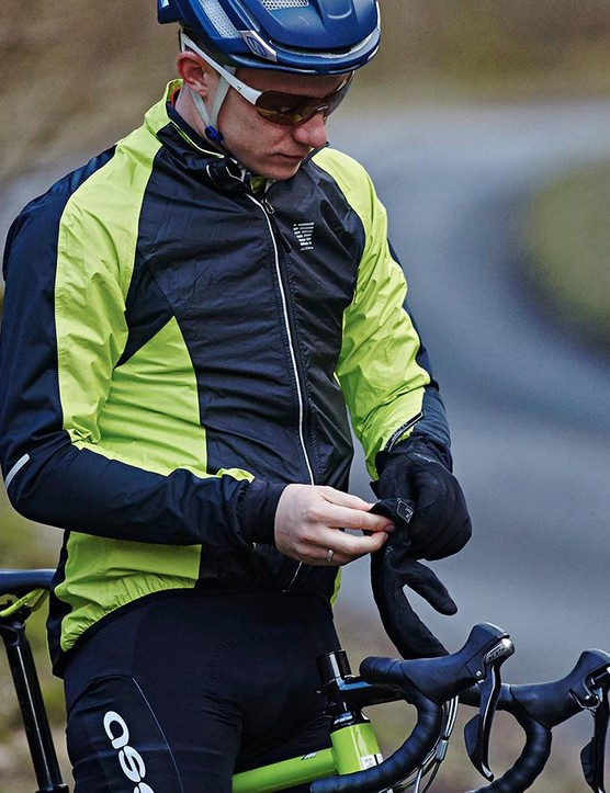 Altura Podium - our pick of the best packable jacket for road cycling