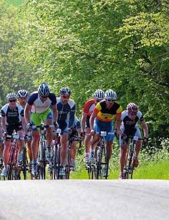 Terrain can vary hugely during one sportive, so train for hills, flats and descents