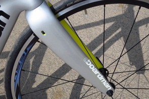 The Shimano RS31 wheels are perfect training partners